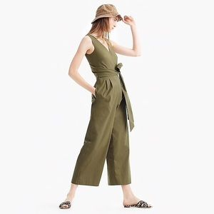 JCrew Olive Jumpsuit